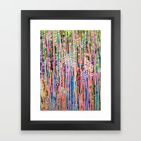 Data Framed Art Print