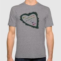 Love Wins - Eva Gabor Mens Fitted Tee Athletic Grey SMALL