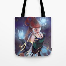 Blue Mage Tote Bag