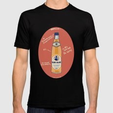 Club-Mate Mens Fitted Tee Black SMALL