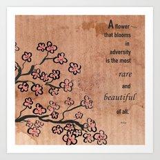 Mulan  Quote Art Print