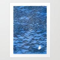 Man & Nature - The Dange… Art Print