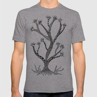 Alluring Tree Mens Fitted Tee Athletic Grey SMALL