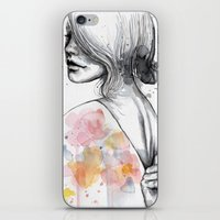 Implosion, Watercolor Wi… iPhone & iPod Skin