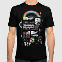 The Icecreamator Mens Fitted Tee Black SMALL