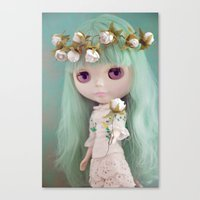 Enchanted Petal Canvas Print