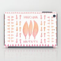 HAKUNA MATATA  - SUNSHINE iPad Case
