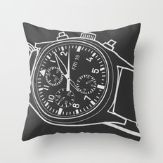 Andrey Watch Throw Pillow