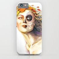iPhone & iPod Case featuring Lady Autumn by Stephane Lauzon