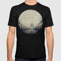 St. Johns Bridge Mens Fitted Tee Tri-Black SMALL