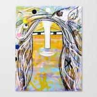 Rainbow Warrior Canvas Print