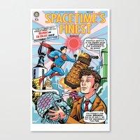 Spacetime's Finest No. 3 Canvas Print