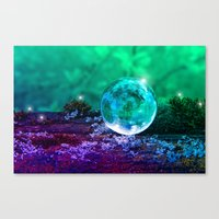 COLLECTION »CRYSTAL BALL« | Tiny Universe Canvas Print