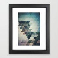 Lyrnynngg Cyyrrvve Framed Art Print