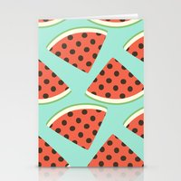 Juicy Melons Stationery Cards