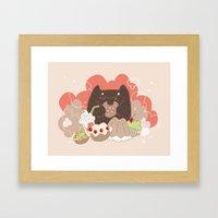 Sweets for the sweet Framed Art Print