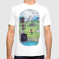 Only Dreams like Today White Mens Fitted Tee SMALL