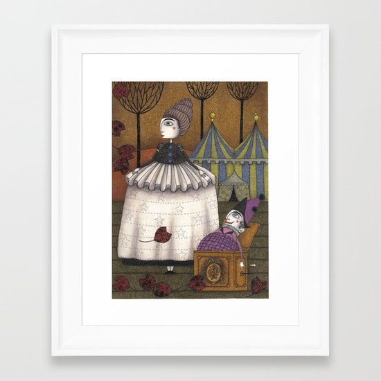 A Day in Autumn Framed Art Print