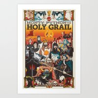 Holy Grail Art Print