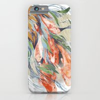 iPhone & iPod Case featuring in the waterweeds by Eachen Chen