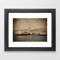 Longboattie. Framed Art Print