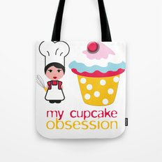 Cupcake obsession Tote Bag