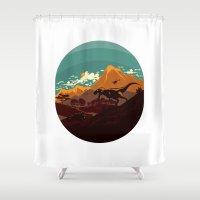 Jurassic Escape Shower Curtain