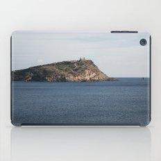 Greek seascape - landscape photography poster - Cape Sounio - Greece iPad Case