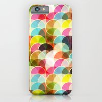 iPhone & iPod Case featuring Circle Colorful by Msimioni