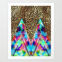 Leopard Prism {A} Art Print