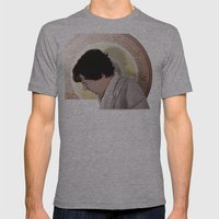 The Royal Sheet Mens Fitted Tee Athletic Grey SMALL