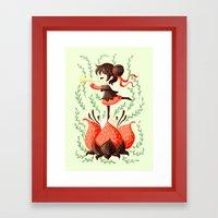 Spring Melody Framed Art Print