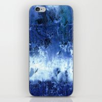 Saltwater Silk Blue iPhone & iPod Skin