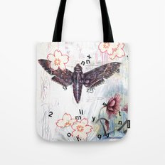 When Words Are Silent Tote Bag