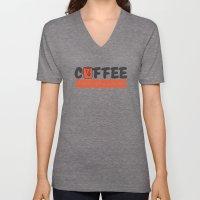 Coffee Rules Everything Around Me Unisex V-Neck