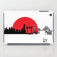 Tokyo City Skyline , Jap… iPad Case