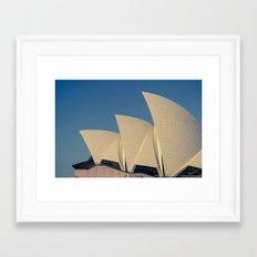 Sydney Opera House V Framed Art Print