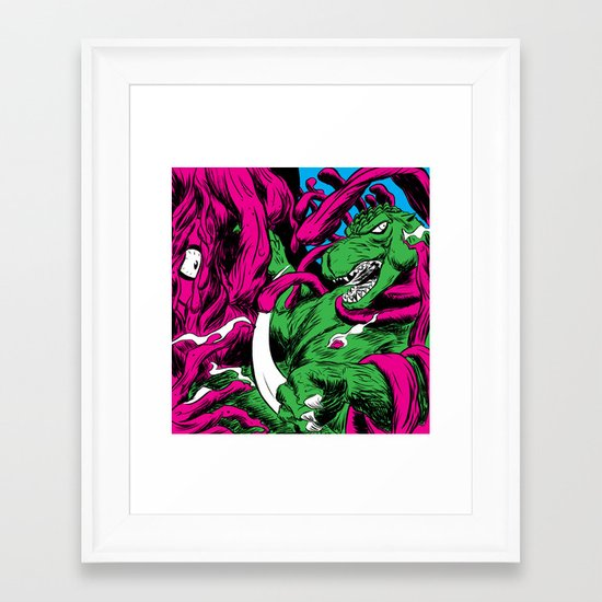 Gojira Framed Art Print