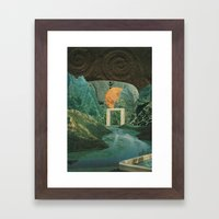 The Green Place Framed Art Print