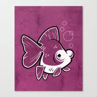 Moor Goldfish Canvas Print