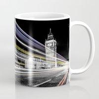 Big Ben light trails Mug
