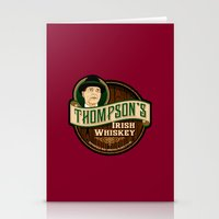 Thompson's Irish Whiskey Stationery Cards