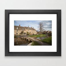 Lower Slaughter Framed Art Print