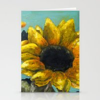 Ithaca Sunflower Stationery Cards