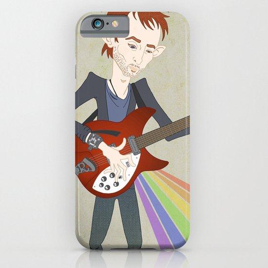 Radiohead Thom in Rainbows iPhone & iPod Case