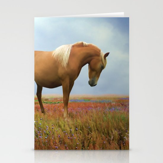 Painted Pastures Stationery Card