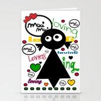 LOvinG MoOi MoOi Stationery Cards