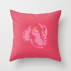 Pink Panther Throw Pillow