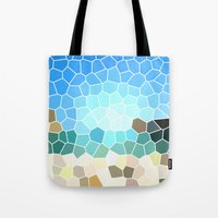 Abstract Geometric Background Tote Bag