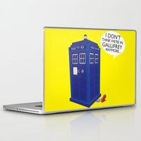 tardis Laptop & iPad Skins featuring Tardis by Elizabeth A